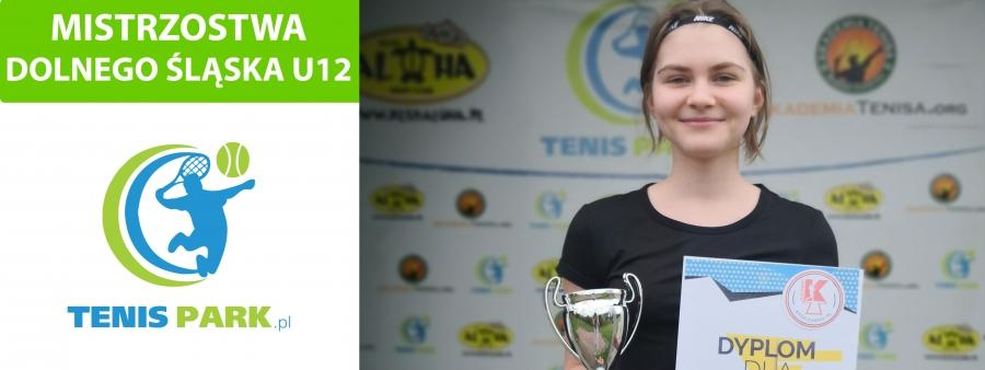 Lena Uzdowska - Mistrzynią Dolnego Śląska U12
