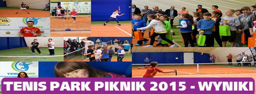 TENIS PARK PIKNIK 2015 - WYNIKI